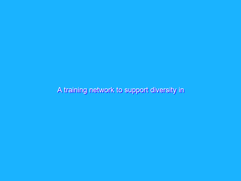 A training network to support diversity in journalism